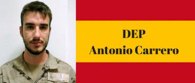 Militar fallecido en Mali, Antonio Carrero
