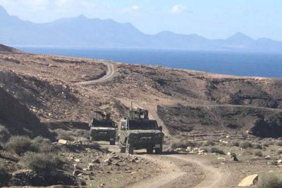 Militares fallecidos en fuerteventura